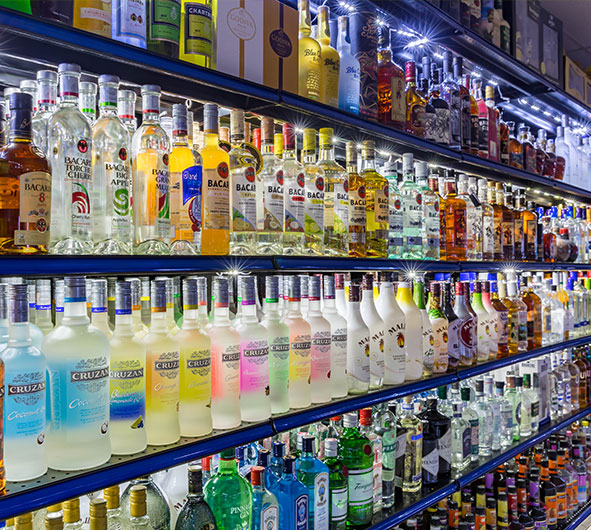 2500 Different Liquors